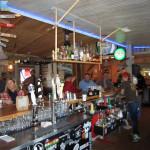 behind bar bonzer shack gallery